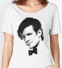 11th Doctor Retro Style Women's Relaxed Fit T-Shirt