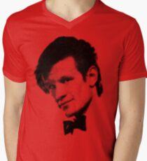 11th Doctor Retro Style Mens V-Neck T-Shirt