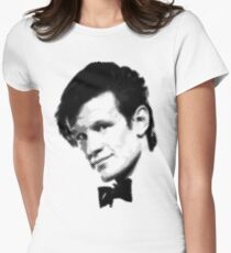 11th Doctor Retro Style Women's Fitted T-Shirt