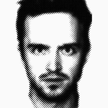 Jesse Pinkman Retro Style by Madkristin
