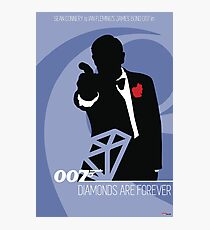 James Bond - Diamonds Are Forever Photographic Print