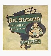 Big Buddha Lounge Photographic Print