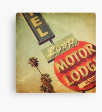 Loop Motel Canvas Print