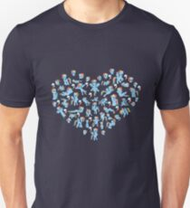 Heart of the Rainbow Unisex T-Shirt