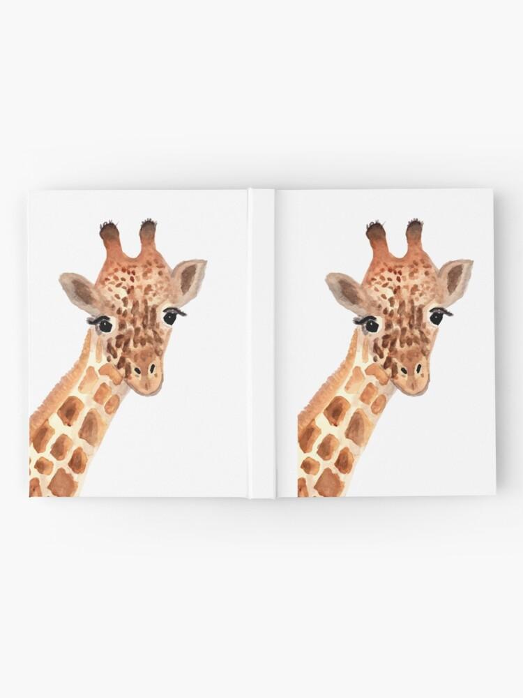 Alternate view of Watercolor Giraffe Hardcover Journal