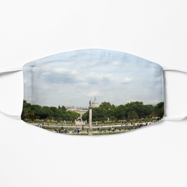 Luxembourg Gardens 12 Flat Mask