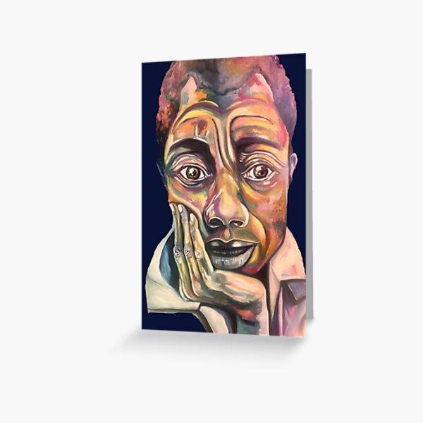 James Baldwin, The Beautiful Black Minds Series Greeting Card