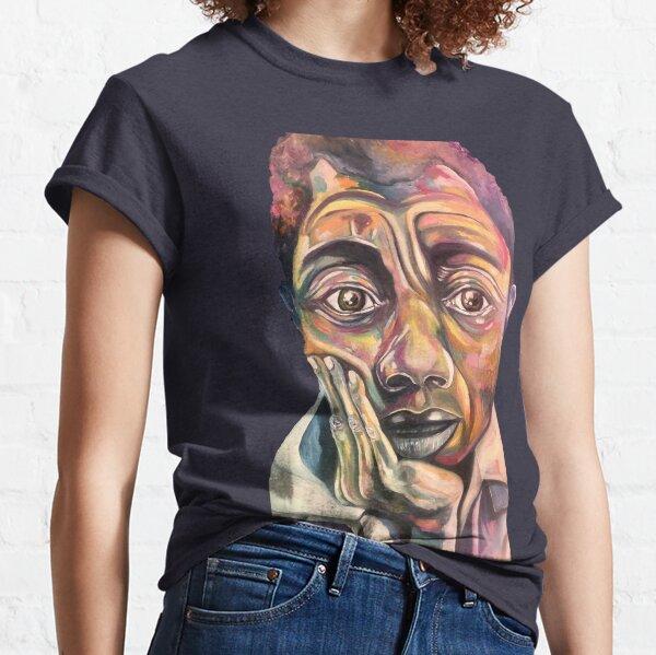Die schöne Black Minds-Serie. James Arthur Baldwin war ein amerikanischer Schriftsteller Classic T-Shirt