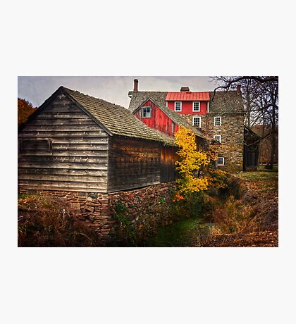 The Stover-Meyer's Mill Photographic Print