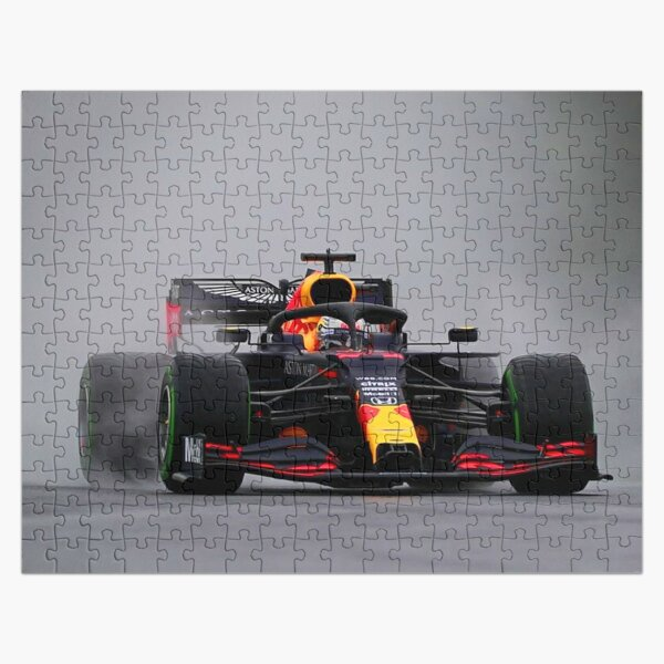Max Verstappen making a spray during the 2020 Hungarian Grand Prix Jigsaw Puzzle