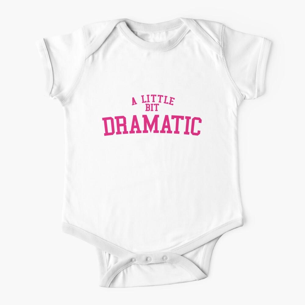Regina George 'A Little Bit Dramatic' Mean Girls Baby One-Piece
