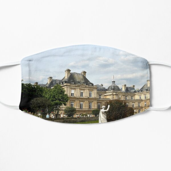 Luxembourg Gardens 13 Flat Mask