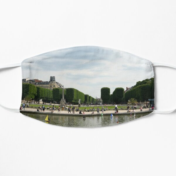 Luxembourg Gardens 14 Flat Mask