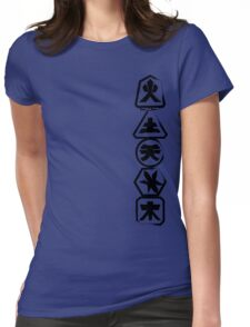 Samurai Stack Womens Fitted T-Shirt