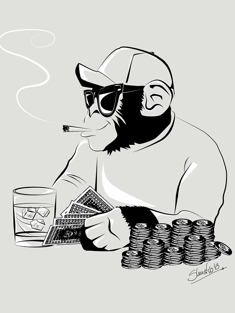 Chimp poker by shucko