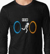 Portal Toilet Long Sleeve T-Shirt