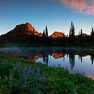Yakima Peak Dawn by DawsonImages