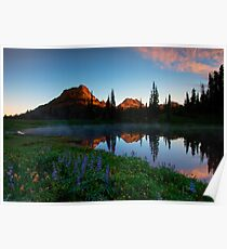 Yakima Peak Dawn Poster