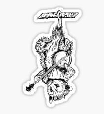Possum Banjo Sticker