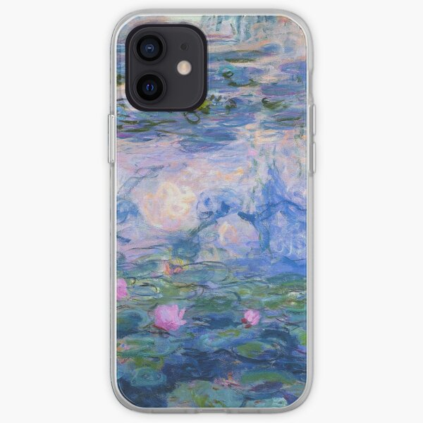 Claude Monet - Water Lilies 1919 1 iPhone Soft Case