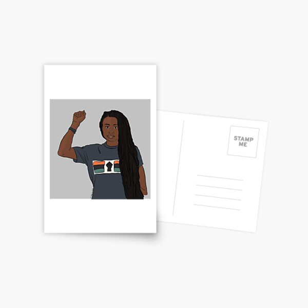 They Call Her Queen - Olutoyin Postcard