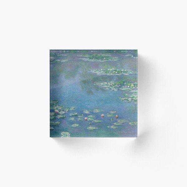 Claude Monet - Water Lilies 1906 Acrylic Block
