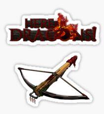 Dragon Hunter's Crossbow Sticker