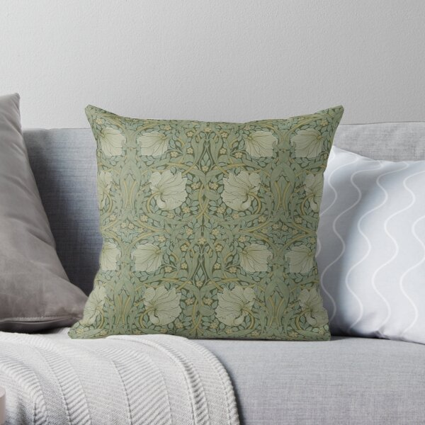 Pimpernel by William Morris, 1876 Throw Pillow