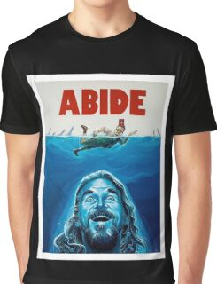 The Big Lebowski Abide Jaws Graphic T-Shirt