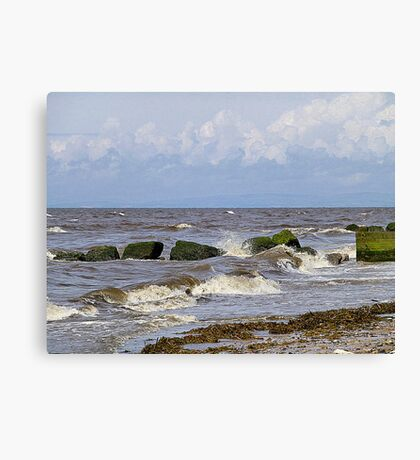 The Incoming Tide. Canvas Print