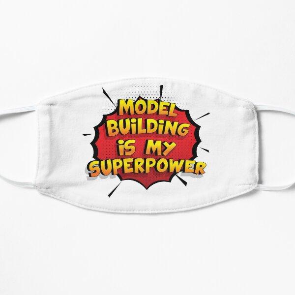 Model Building ist mein Superpower Lustiges Model Building Designgeschenk Flache Maske