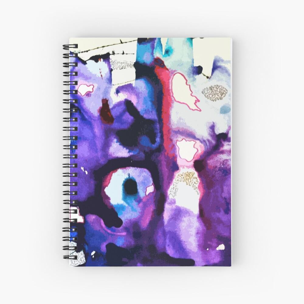 Cotton Candy Spiral Notebook