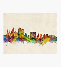 Sydney Skyline Photographic Print
