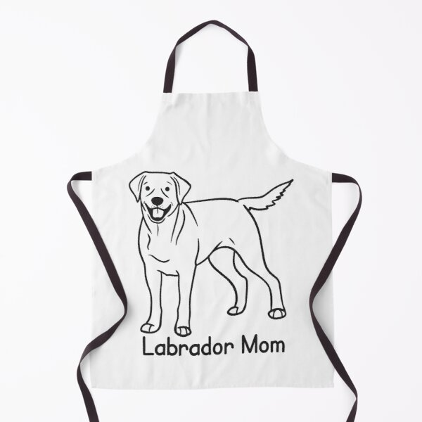 Labrador Retriever Dog Mom Apron