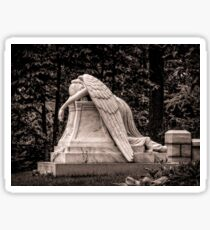 Weeping Angel - sepia Sticker