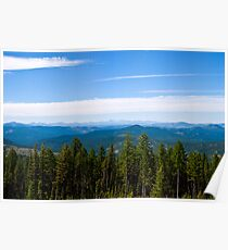 The Cabinet Mountains, Sanders County, Montana Poster
