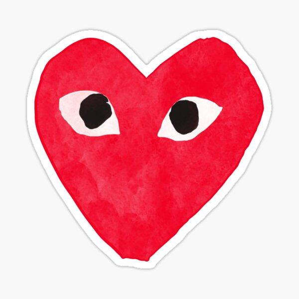 Comme De Garcon Red Sticker