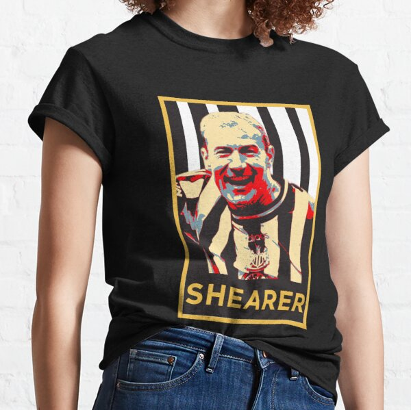 Alan Shearer Portrait Artwork Classic T-Shirt