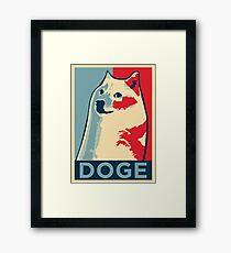 DOGE Framed Print