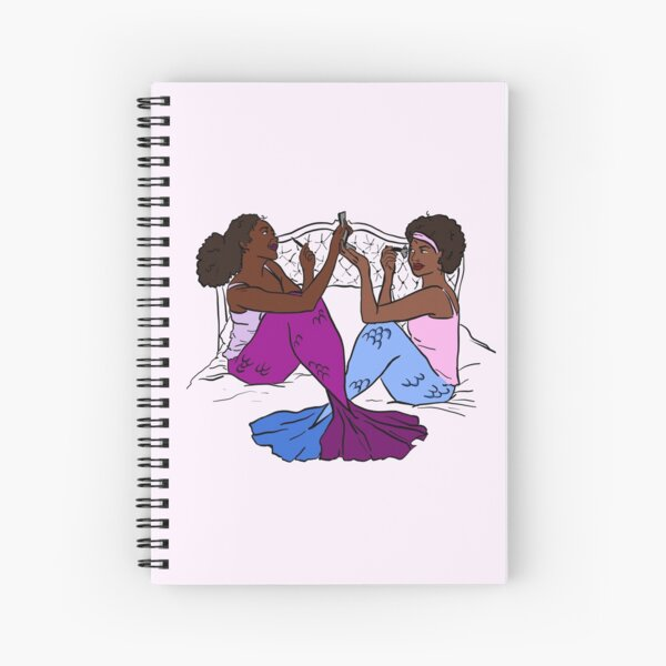 Mersisters Spiral Notebook