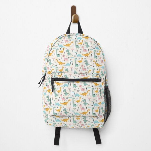 Cute Dino Pattern  Backpack