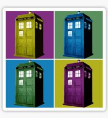 Pop Art Tardis  Sticker