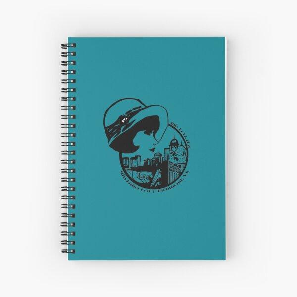 2021 Con Logo B&W Spiral Notebook