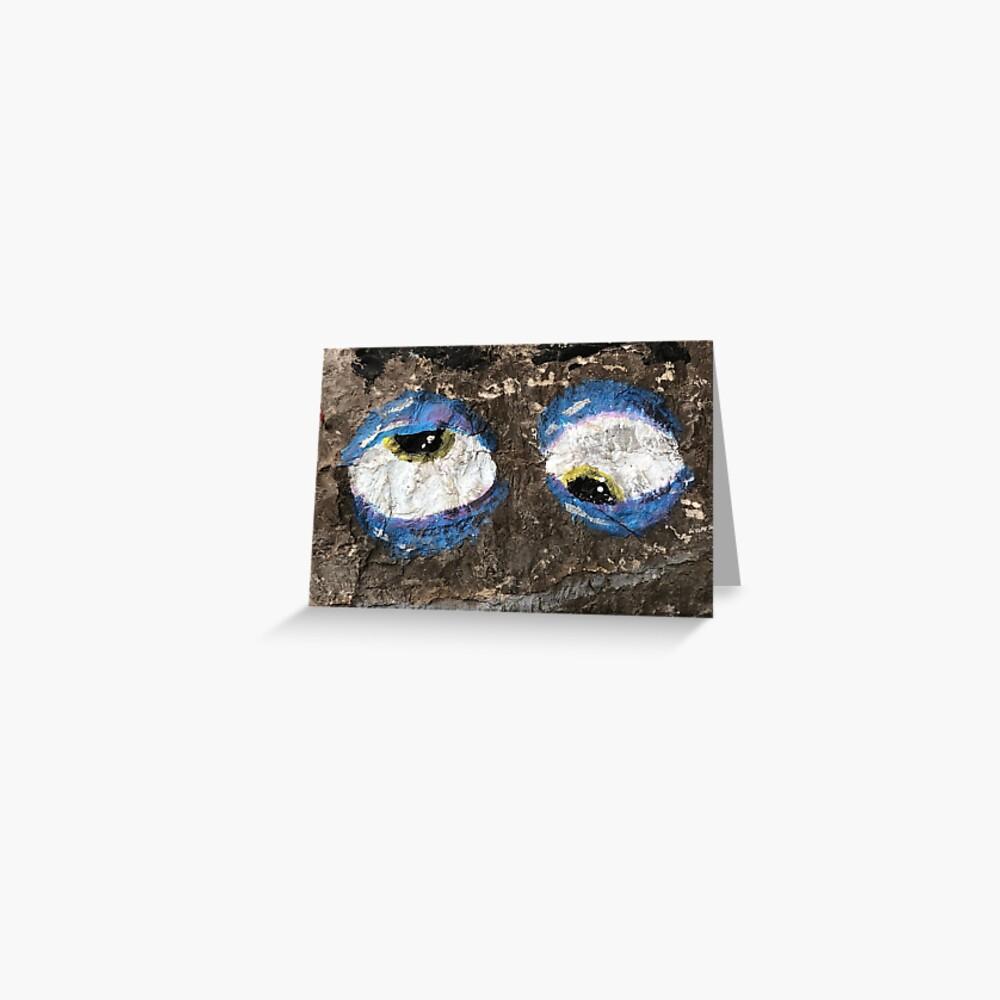 Eyes, googly eyes, googly eye mask, googly eyes socks,  Greeting Card
