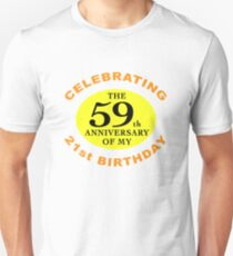 Funny 80th Birthday (Anniversary) T-Shirt