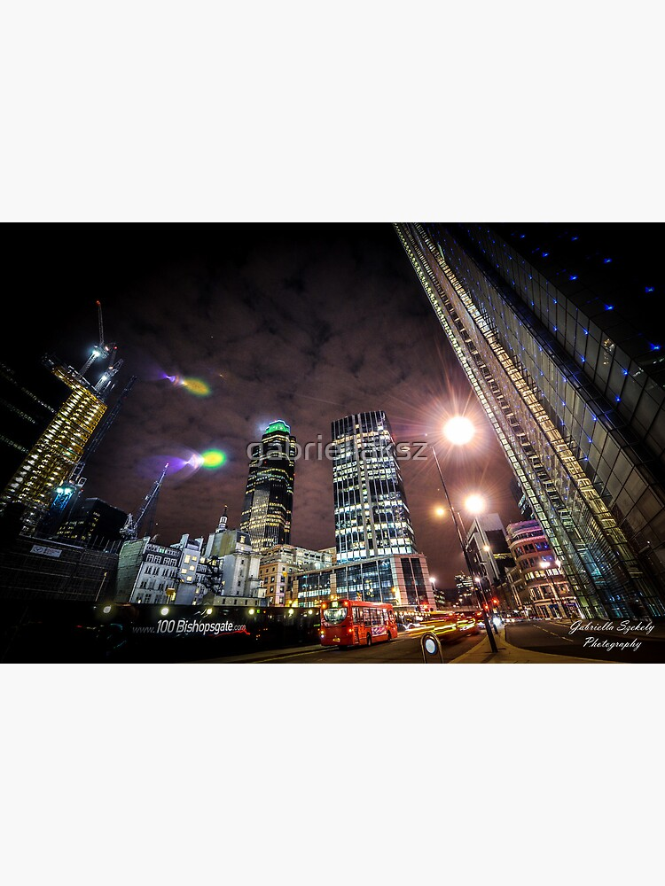 London in the lights by gabriellaksz