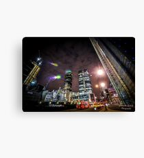 London in the lights Canvas Print