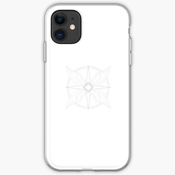 20 Galaxies: Skaeya Symbol -- Gray iPhone Soft Case
