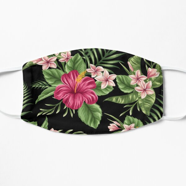 Tropical Flowers Mask