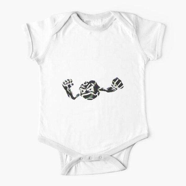 Geodude Short Sleeve Baby One-Piece